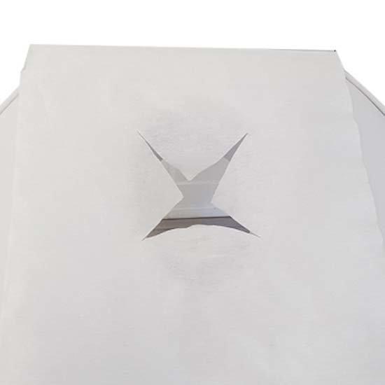 100 stuks vierkante cover voor massagestoel-bed
