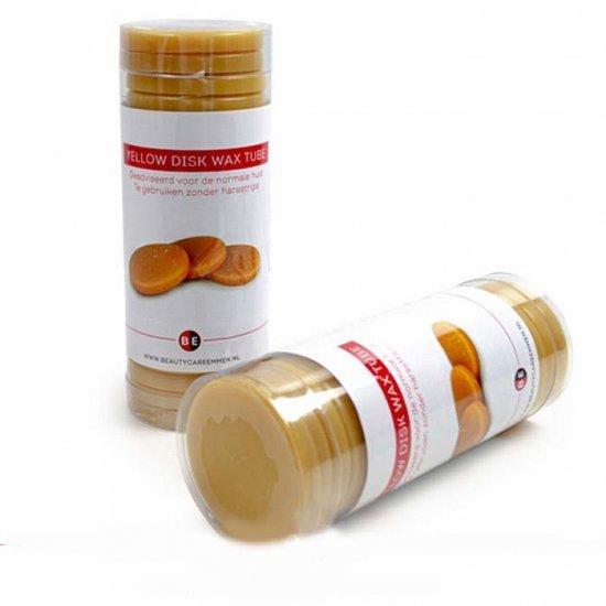 Harsschijven in koker 400gr: Honing