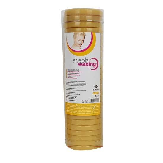 Harsschijven in koker 500gr: Honing