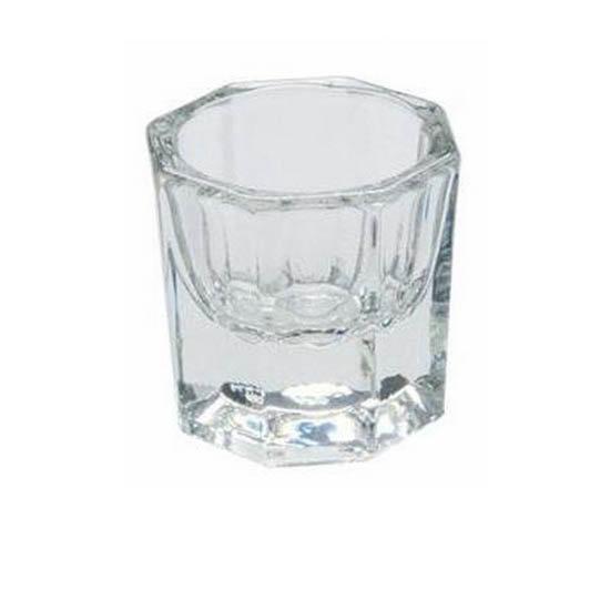 Mixglas voor het mengen van wenkbrauwverf