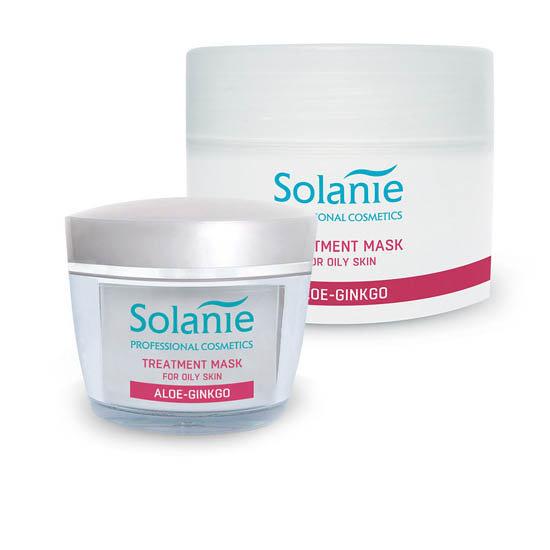 Solanie treatment mask for oily skin