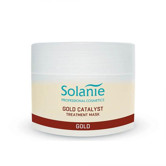 Solanie gold catalyst treatment mask 250ml
