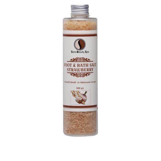 Sara Beauty Spa Bath&Foot Salt with Strawberry 330gr