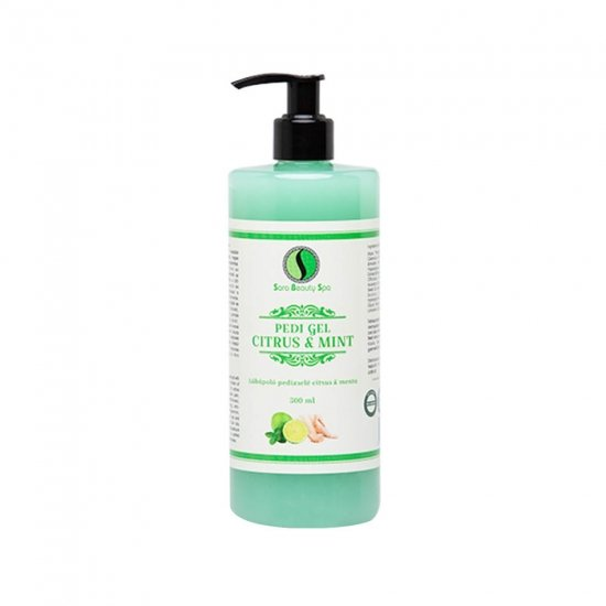 Sara Beauty Spa Pedi Citrus & Mint gel