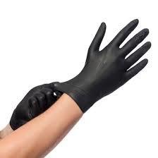 Nitrile handschoenen ZWART