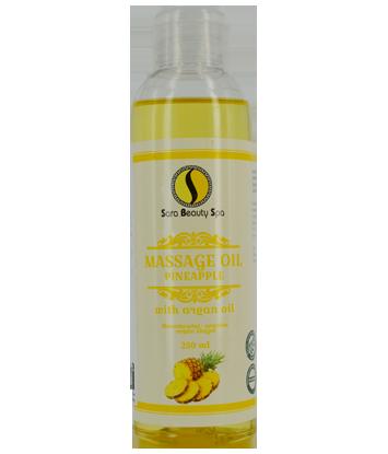 Massage olie Pineapple (Argan) 250ml