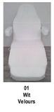 wit_Universele stoelhoes geschikt voor de meeste behandelstoelen
