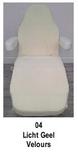 licht geel_Universele stoelhoes geschikt voor de meeste behandelstoelen