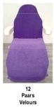 paars_Universele stoelhoes geschikt voor de meeste behandelstoelen
