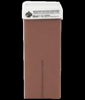 Harspatroon chocolade 100ml met vaste roller
