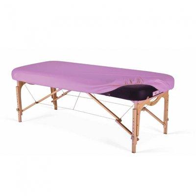 Badstof massagetafelhoes zonder gat