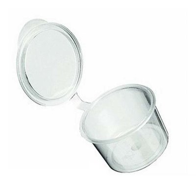 Kunststof cupjes 10 ml per 25st