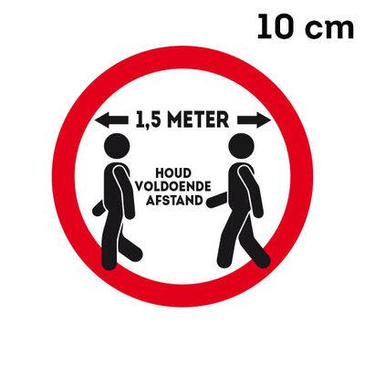 013 sticker 1,5 meter (10 cm of 35 cm) Rood of Geel