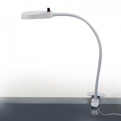 Dimbare ambulante pedicurelamp met tafelklem