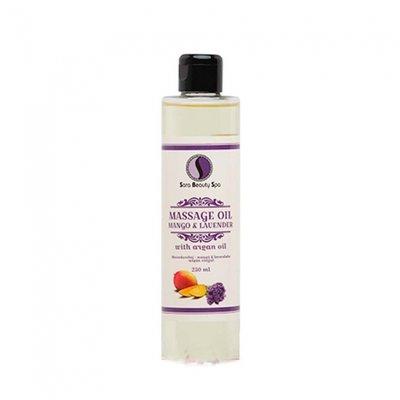 Sara Beauty Spa Massage olie Mango & Lavender (Argan) 250ml