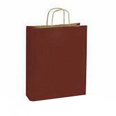 10 stuks Papieren draagtassen bruin