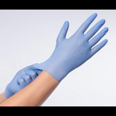 Nitril Handschoenen: Violet-Blauw 100st