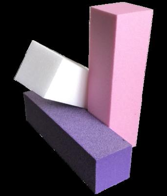 Blok vijl Wit/Roze/paars per 10 stuks