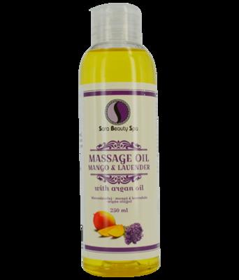 Massage olie Mango & Lavender (Argan) 250ml