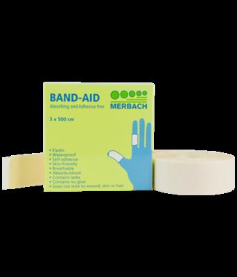 Pleisterverband Band-aid 3 x 500 cm