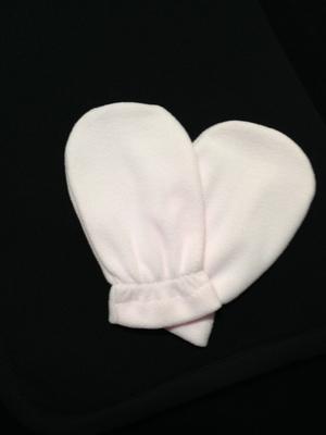 Fleece handschoenen voor oa paraffine behandelingen