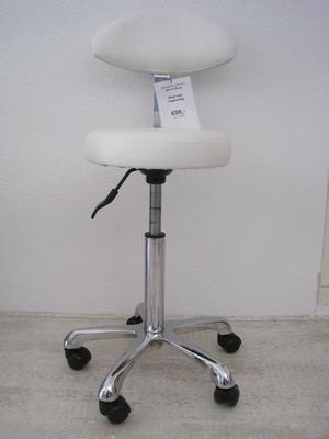 Comfort werkstoel met rugleuning